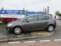 2011 VAUXHALL ASTRA 1.6 EXCLUSIV 5d 113 BHP £4295.00