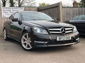 2012 MERCEDES-BENZ C CLASS 2.1 C220 CDI BLUEEFFICIENCY AMG SPORT ED125 2d AUTO 170 BHP £10440.00