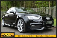 USED 2014 64 AUDI A3 2.0 TDI S LINE 4d 148 BHP EXCELLENT SPECIFICATION, LOW OWNERS AND FULL HISTORY.........