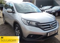 USED 2013 13 HONDA CR-V 2.2 I-DTEC SR 5d 148 BHP 1 PREVIOUS KEEPER, SERVICE HISTORY & X2 KEYS