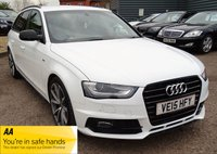 2015 AUDI A4 2.0 AVANT TDI BLACK EDITION PLUS 5d 148 BHP £12390.00