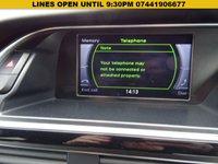 USED 2015 15 AUDI A4 2.0 AVANT TDI BLACK EDITION PLUS 5d 148 BHP Estate AUDI DIGITAL SERVICE PRINT OUT 1 PREVIOUS KEEPER SPORTS ALLOYS HALF LEATHRER SPORTS TRIM