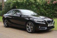 2015 BMW 2 SERIES 1.5 218I SPORT 2d 134 BHP £13000.00