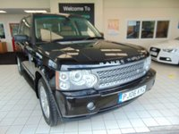 USED 2006 06 LAND ROVER RANGE ROVER 2.9 TD6 VOGUE 5d AUTO 175 BHP FULL MOT + SATELLITE NAVIGATION + ALLOYS + HEATED SEATS + ELECTRIC WINDOWS CD RADIO + SIDE STEPS + ELECTRIC SUNROOF + LEATHER TRIM + CRUISE CONTROL + CLIMATE CONTROL