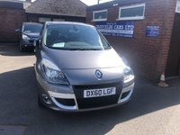 2010 RENAULT SCENIC 1.4 PRIVILEGE TOMTOM TCE 5d 129 BHP £3890.00