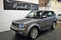 USED 2009 59 LAND ROVER RANGE ROVER SPORT 3.0 TDV6 HSE 5d AUTO 245 BHP LOVELY CONDITION - 9 STAMPS TO 86K MILES - NAV - LEATHER - KEYLESS ENTRY - REVERSE CAMERA - H/SEATS - HARMAN KARDON