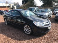 2007 VAUXHALL ASTRA 1.9 TWIN TOP DESIGN 3d 150 BHP £1850.00