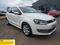 USED 2010 60 VOLKSWAGEN POLO 1.2 SE 3d 70 BHP 8 VW DELAERSHIP SERVICE STAMPS CHARCOAL TRIM