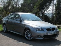 USED 2006 06 BMW 5 SERIES 2.0 520D M SPORT 4d AUTO 161 BHP **AFFORDABLE LUXURY**