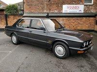 1987 BMW 5 SERIES 2.0 520I 4d AUTO 125 BHP £5750.00