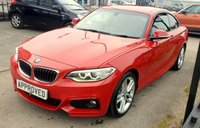USED 2015 65 BMW 2 SERIES 2.0 228I M SPORT 2d 241 BHP 0% Deposit Plans Available even if you Have Poor/Bad Credit or Low Credit Score, APPLY NOW!