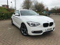 2013 BMW 1 SERIES 2.0 116D SPORT 3d AUTO 114 BHP