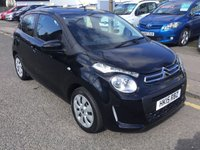 USED 2015 15 CITROEN C1 1.0 FEEL 5d 68 BHP OUR  PRICE INCLUDES A 6 MONTH AA WARRANTY DEALER CARE EXTENDED GUARANTEE, 1 YEARS MOT AND A OIL & FILTERS SERVICE. 6 MONTHS FREE BREAKDOWN COVER.    CALL US NOW FOR MORE INFORMATION OR TO BOOK A TEST DRIVE ON 01315387070 !!