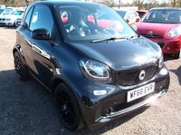 2016 SMART FORTWO 1.0 EDITION BLACK 2d 71 BHP £7995.00
