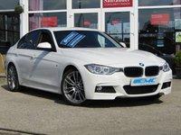 2015 BMW 3 SERIES 2.0 320D M SPORT 4d AUTO 181 BHP £15695.00