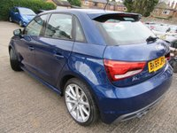 USED 2015 65 AUDI A1 1.4 SPORTBACK TFSI S LINE 5d AUTO 148 BHP One owner Sat Nav Immaculate  both inside & out Take a test drive , Kerb appeal with S line styling Buy locally price checked