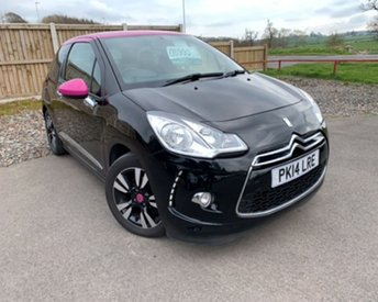 2014 CITROEN DS3 1.6 E-HDI AIRDREAM DSTYLE PINK 3d 90 BHP £6995.00