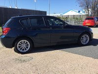 USED 2015 64 BMW 1 SERIES 1.6 116D EFFICIENTDYNAMICS BUSINESS 5d 114 BHP