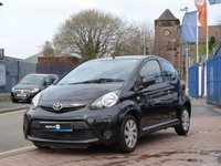 USED 2012 12 TOYOTA AYGO 1.0 VVT-I ICE 3d  AIR CON ~ BLUETOOTH ~ £0 ROAD TAX ~ PART LEATHER ~ SERVICE HISTORY ~ IDEAL FIRST CAR