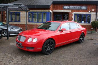 2006 BENTLEY CONTINENTAL FLYING SPUR 6.0 FLYING SPUR 4 SEATS 4d AUTO 550 BHP £25000.00
