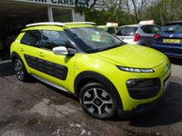 USED 2014 64 CITROEN C4 CACTUS 1.6 BLUEHDI FEEL 5d 98 BHP Full Service History + Serviced by ourselves, One Lady Owner from new, Minimum 6 months MOT, Superb fuel economy! ZERO Road Tax!