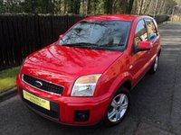 2011 FORD FUSION 1.4 ZETEC 5d 80 BHP £4488.00