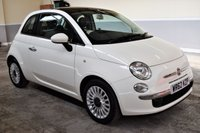 USED 2012 62 FIAT 500 1.2 LOUNGE 3d 69 BHP Stunning 2012 Fiat 500 1.2 Lounge with 67k miles and FSH!