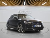 USED 2013 62 AUDI A1 1.4 TFSI BLACK EDITION 3d AUTO 185 BHP 0% DEPOSIT CAR FINANCE TODAY!