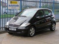 2007 MERCEDES-BENZ A CLASS 1.5 A150 AVANTGARDE SE 5d 94 BHP £SOLD