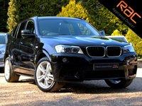 USED 2012 D BMW X3 2.0 XDRIVE20D M SPORT 5d 181 BHP