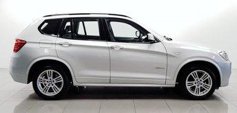 2012 BMW X3 2.0 XDRIVE20D M SPORT 5d 181 BHP £10950.00