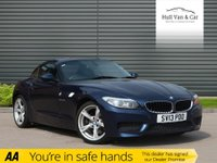 USED 2013 13 BMW Z4 2.0 Z4 SDRIVE28I M SPORT ROADSTER 2d 242 BHP HISTORY, LEATHER, SAT NAV, DAB