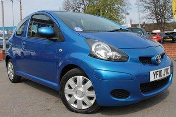 2010 TOYOTA AYGO 1.0 BLUE VVT-I 3d 67 BHP £3000.00