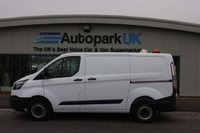 USED 2015 15 FORD TRANSIT CUSTOM 2.2 270 LR P/V 1d 99 BHP LOW DEPOSIT OR NO DEPOSIT FINANCE AVAILABLE