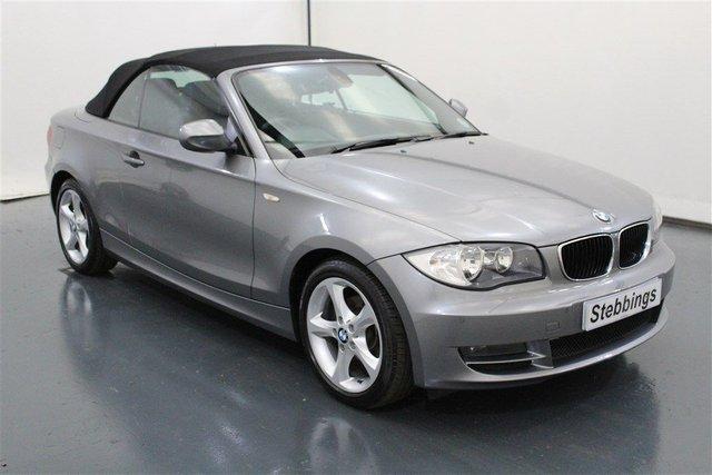 2010 60 BMW 1 SERIES 2.0 118D SPORT 2d 141 BHP CONVERTIBLE