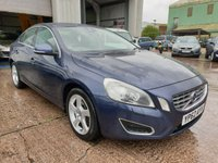 USED 2012 62 VOLVO S60 2.4 D5 SE LUX NAV 4d 212 BHP **2 OWNERS**SUPERB DRIVE**GREAT CONDITION**