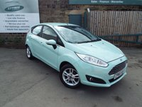 USED 2016 66 FORD FIESTA 1.2 ZETEC 5d 81 BHP One Owner Full Service History With SAT NAV