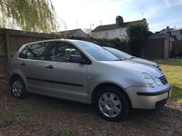 USED 2004 VOLKSWAGEN POLO 1.4 TWIST 5d  MOT UNTIL 21/01/2020 PART EXCHANGE TO CLEAR MOT UNTIL 21/01/2020