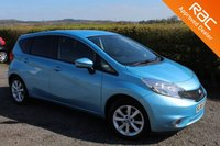 USED 2015 65 NISSAN NOTE 1.2 ACENTA PREMIUM DIG-S 5d AUTO 98 BHP VIEW AND RESERVE ONLINE OR CALL 01527-853940 FOR MORE INFO.