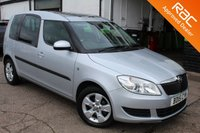 USED 2015 15 SKODA ROOMSTER 1.2 SE TSI 5d 85 BHP VIEW AND RESERVE ONLINE OR CALL 01527-853940 FOR MORE INFO.
