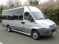 USED 2009 09 IVECO DAILY 45C15V 3.0TD E4 150BHP 19 SEATER DISABLED PASSENGER EXECUTIVE MINI BUS TAILLIFT+19 SEATER+ONLY 9K+