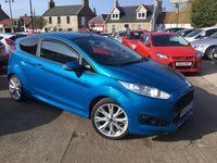 USED 2013 63 FORD FIESTA 1.6 ZETEC S TDCI 3d 94 BHP FULL DEALER HISTORY - 6 STAMPS!