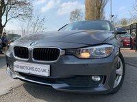 USED 2012 12 BMW 3 SERIES 2.0 320D EFFICIENTDYNAMICS 4d 161BHP AUTO 2KEYS+HISTORY+CLIMATE+MEDIA+