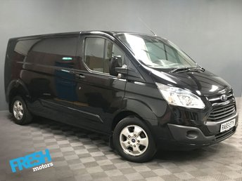 2015 FORD TRANSIT CUSTOM 2.2 290 LIMITED L2H1 £12775.00
