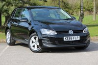 2017 VOLKSWAGEN GOLF 1.6 MATCH EDITION TDI BMT 5d 109 BHP £13280.00