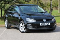 USED 2017 66 VOLKSWAGEN GOLF 1.6 MATCH EDITION TDI BMT 5d 109 BHP