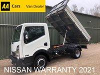USED 2016 16 NISSAN NT400 CABSTAR Tipper 2.5 DCI 35.14 136 BHP *NISSAN WARRANTY 2021*