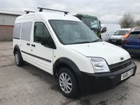 2005 FORD TOURNEO CONNECT 1.8 TDCI LWB 90PS 5 SEAT WHITE **NO VAT** £1495.00