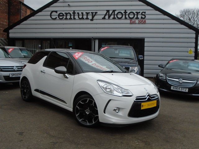 2013 13 CITROEN DS3 1.6HDI AIRDREAM DSPORT 3d - ZERO TAX