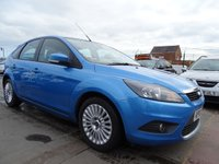 2010 FORD FOCUS 1.6 TITANIUM TDCI GREAT SPEC YEAR MOT £2195.00